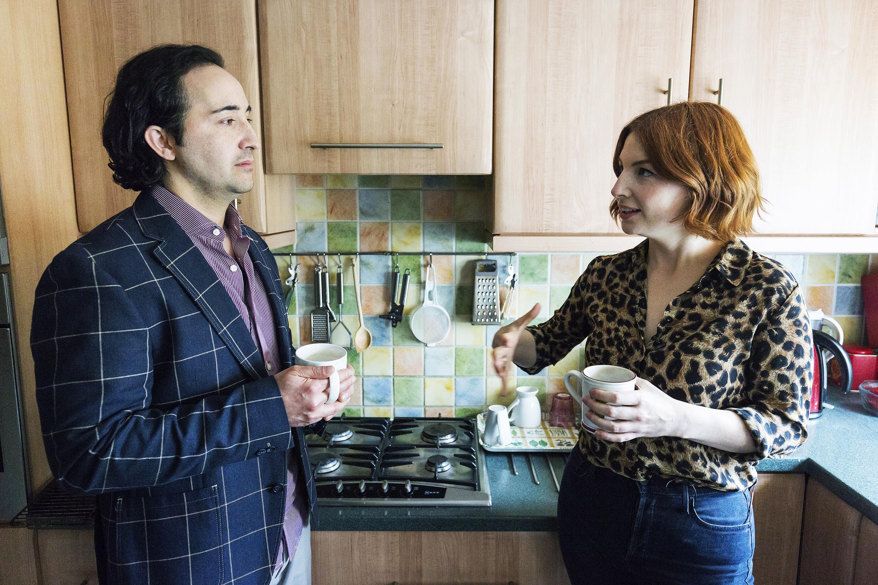 Alice Levine and Jack Sen in Sleeping with Extremists