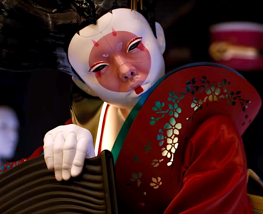 Ghost In The Shell Geisha Bot Costume Rpf Costume And Prop Maker Community