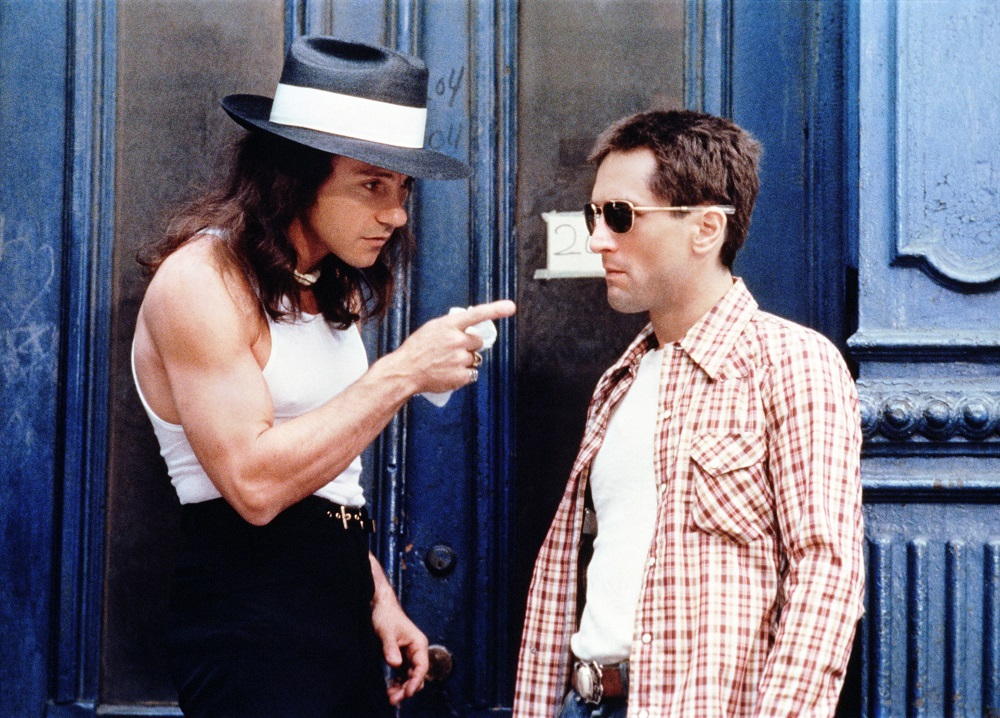 Harvey Keitel and Robert De Niro in Taxi Driver