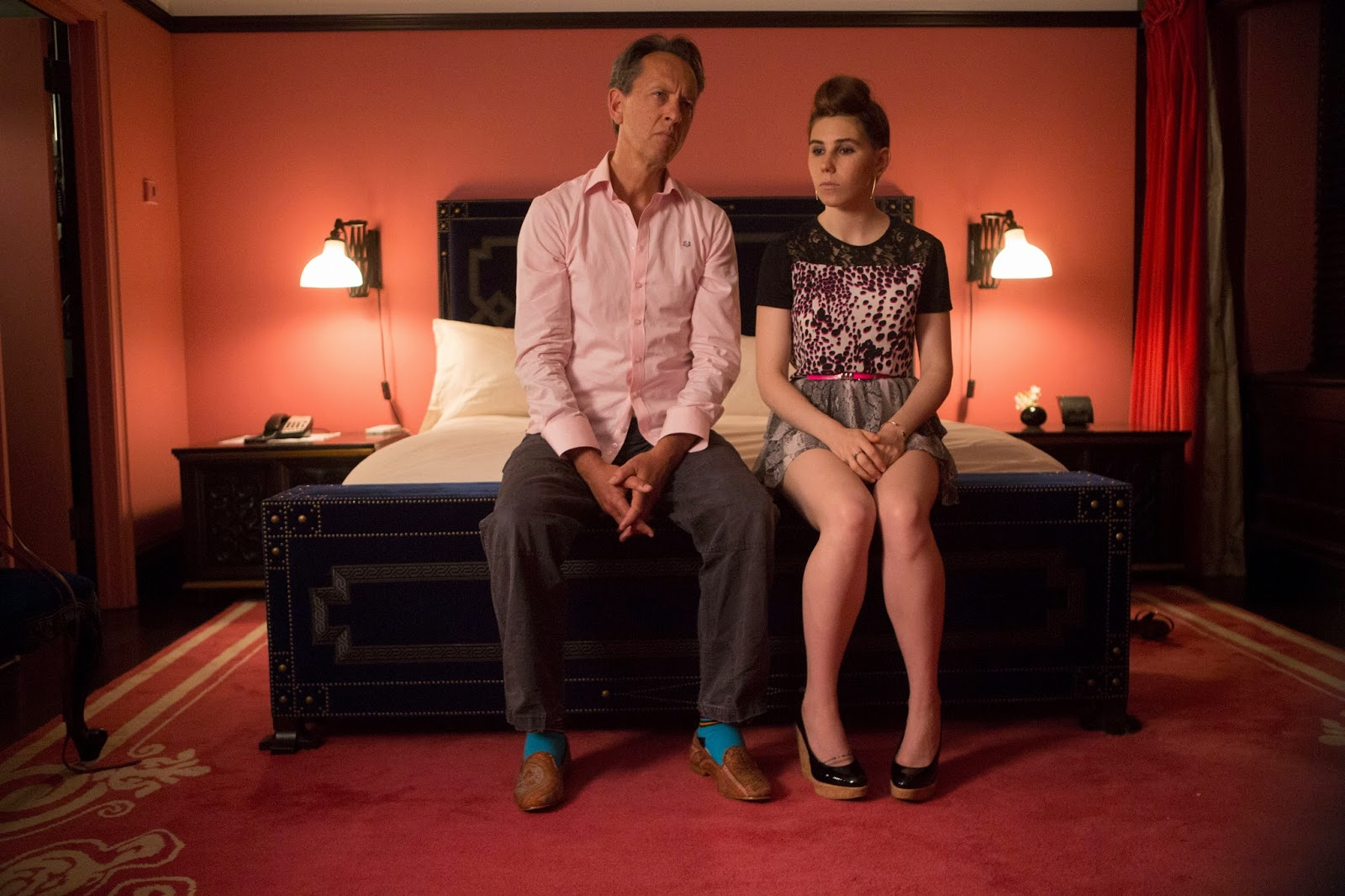 Richard E Grant in Girls with Zosia Mamet