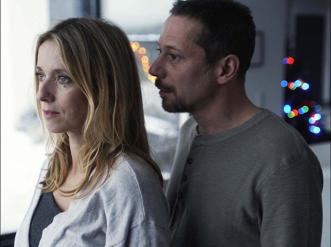 Mathieu Amalric and Léa Drucker