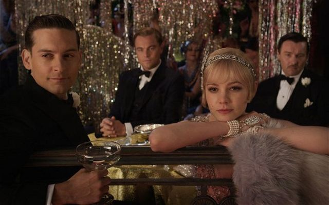 Tobey Maguire et al in The Great Gatsby