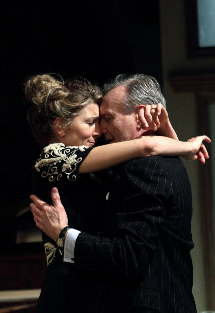 Eve Best, Anthony Head in Love in Idleness, Menier Chocolate Factory
