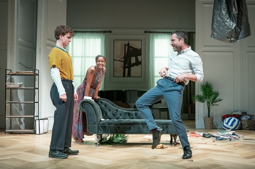 The Son-Laurie Kynaston (Nicolas), Amaka Okafor (Sofia), John Light (Pierre)