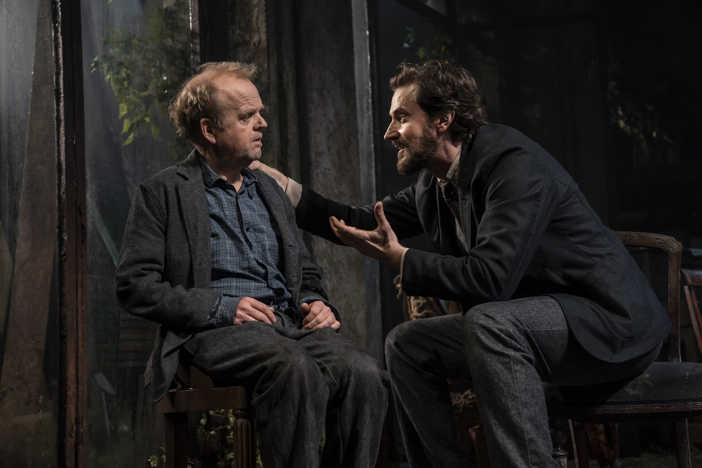Toby Jones and Richard Armitage