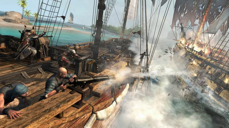 Assassin's Creed IV Black Flag - stealth action goes Pirates Of The Carribean
