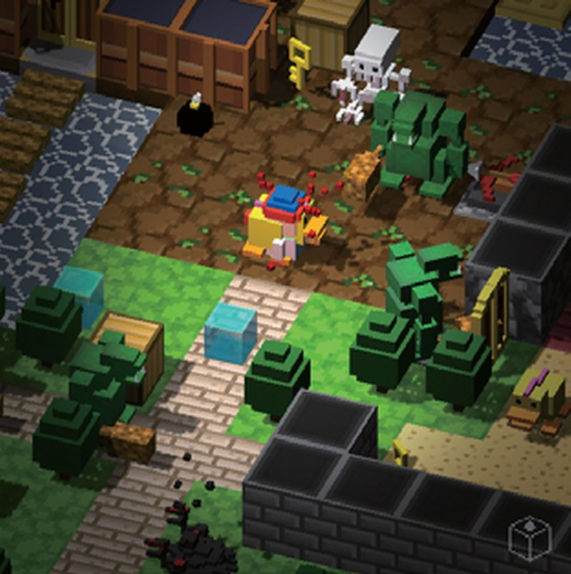 BlockQuest - RPG dungeon bash meets Crossy Road