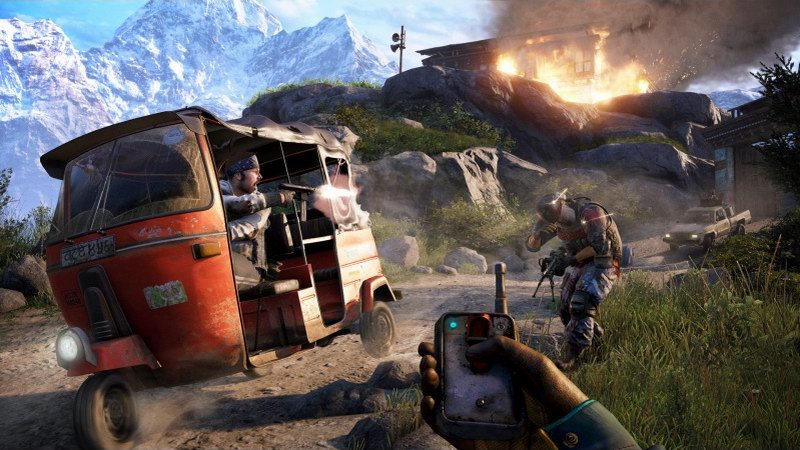 Far Cry 4 - freeroaming first person shooter