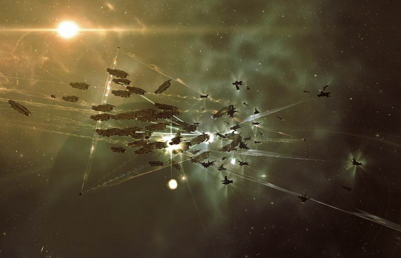Eve Online - MMO massively multiplayer online space opera