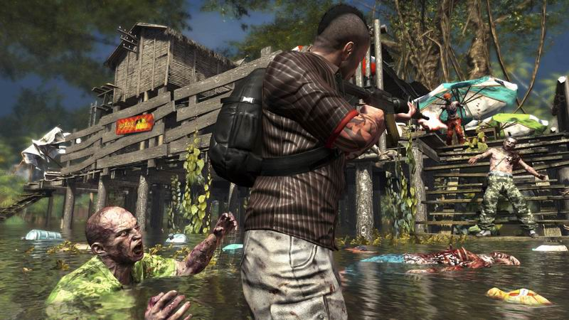 Zombies attack in Dead Island Riptide