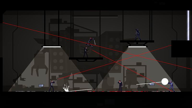 Ronin - puzzle game that riffs off Gunpoint only not as good