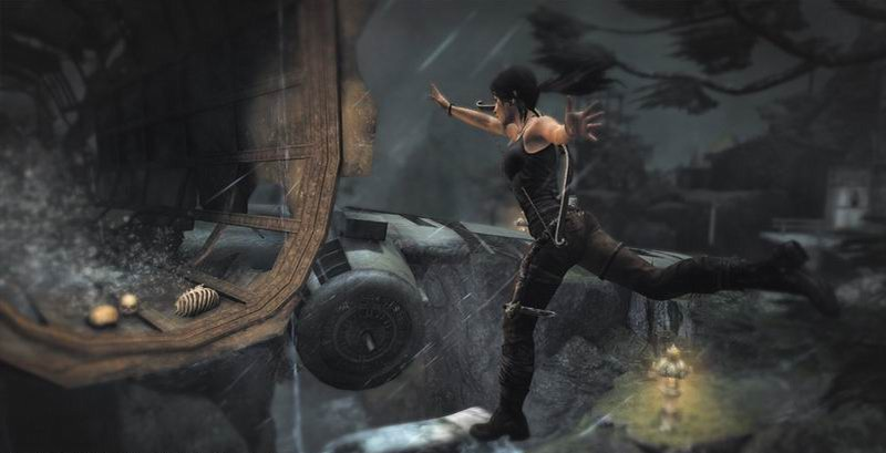 Tomb Raider Lara Croft jumping