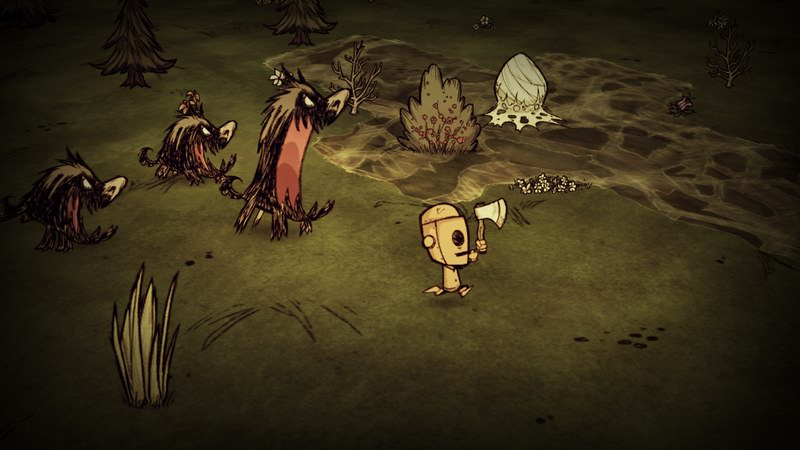 Don't Starve - Minecraft-style crafting and survival
