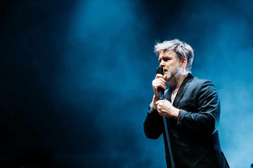 LCD Sound System photo by Jordan Curtis Hughes