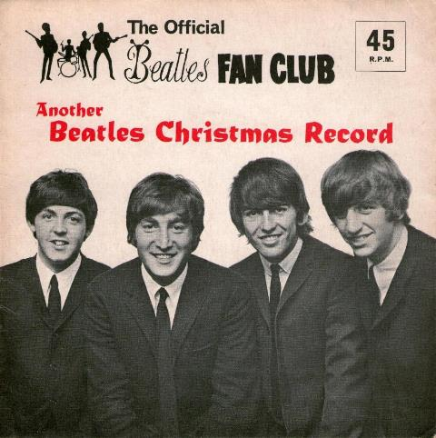 Another Beatles Christmas Record 1964 cover