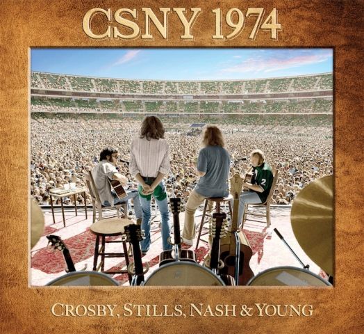 Crosby, Stills, Nash & Young CSNY 1974