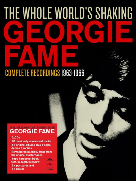 GEORGIE FAME THE WHOLE WORLD'S SHAKING