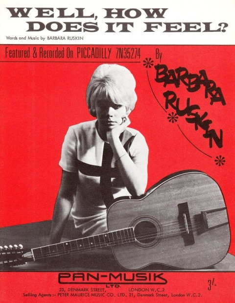 Gathered From Coincidence The British Folk-Pop Sound Of 1965-66_barbara ruskin_well how does it feel