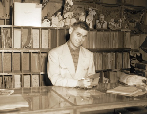 George Jones Record Store