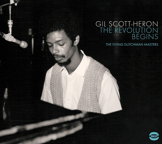 Gil Scott-Heron The Revolution Begins The Flying Dutchman Masters