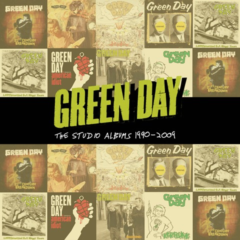 Green Day The Studio Albums 1990-2009