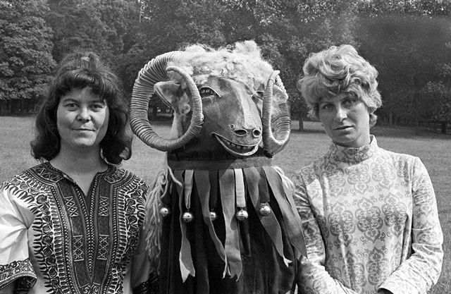 Shirley & Dolly Collins Woburn Festival 6 July 1968 Brian Shuel
