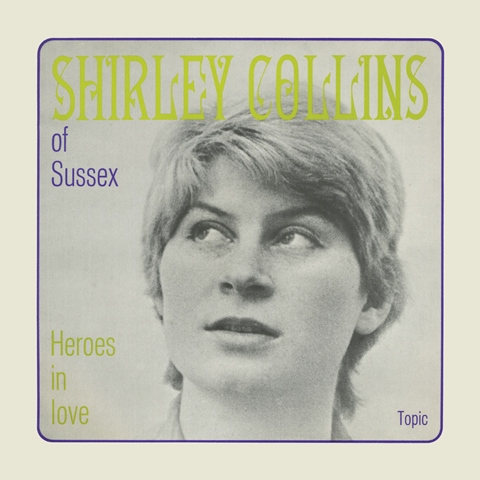 Shirley Collins of Sussex Topic EP 1963