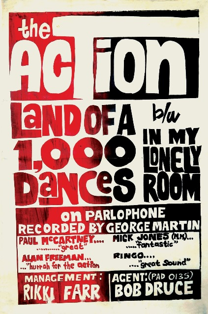 The Action_Shadows and Reflections The Complete Recordings 1964–1968_land of a 1000 dances ad