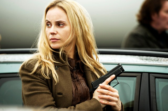 The Bridge Sofia Helin as Saga Norén