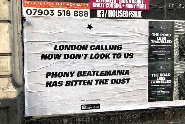The Clash London Calling_Great Portland Street 18OCT19