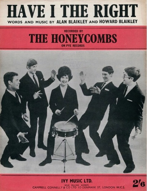 The Honeycombs Have I The Right The Complete 60s Albums & Singles_songsheet
