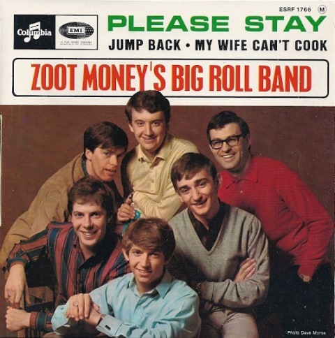 ZOOT MONEY'S BIG ROLL BAND PLEASE STAY FRENCH EP
