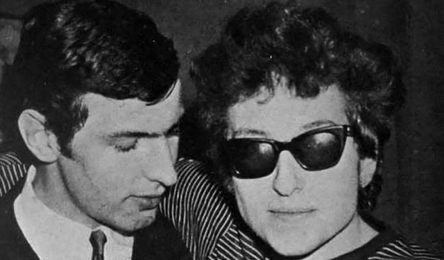 guy darrell with bob dylan