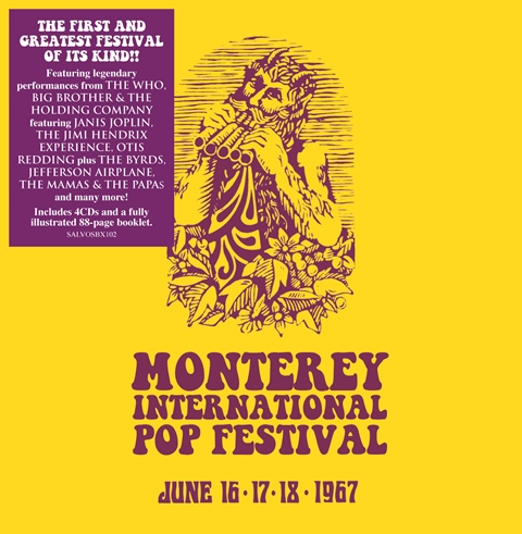 Monterey International Pop Festival box set