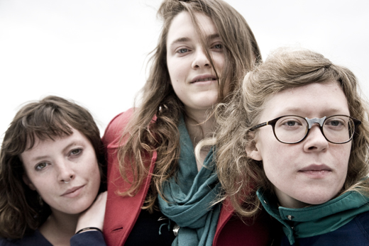 Feist's backing vocalists Mountain Man