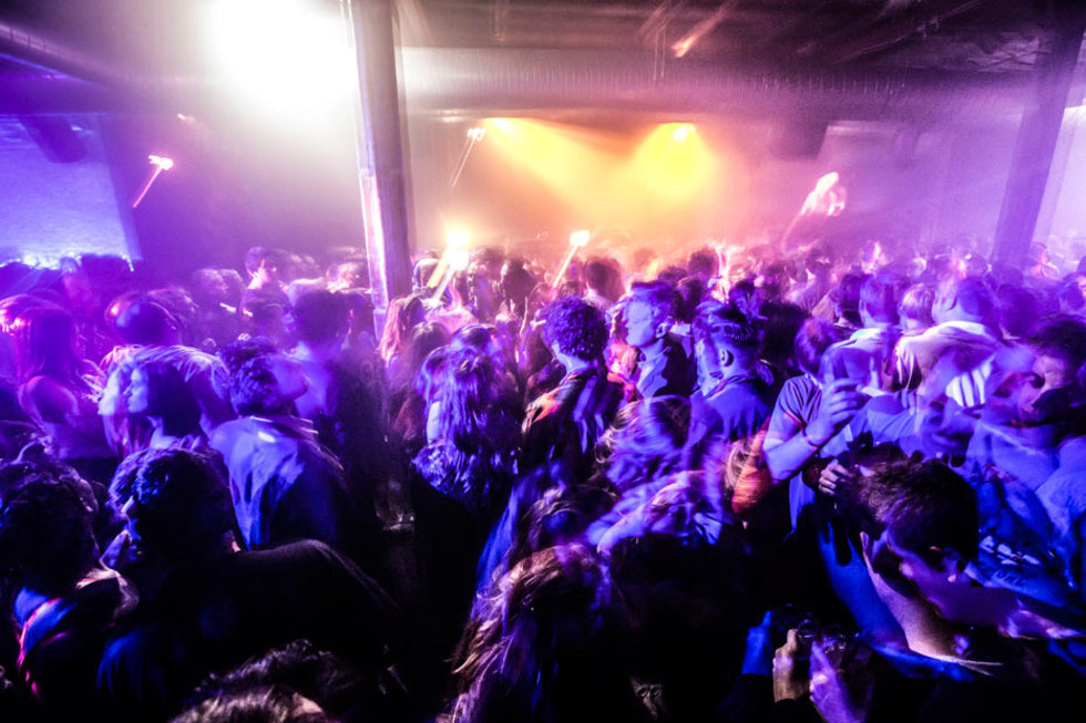 The crowd at XOYO