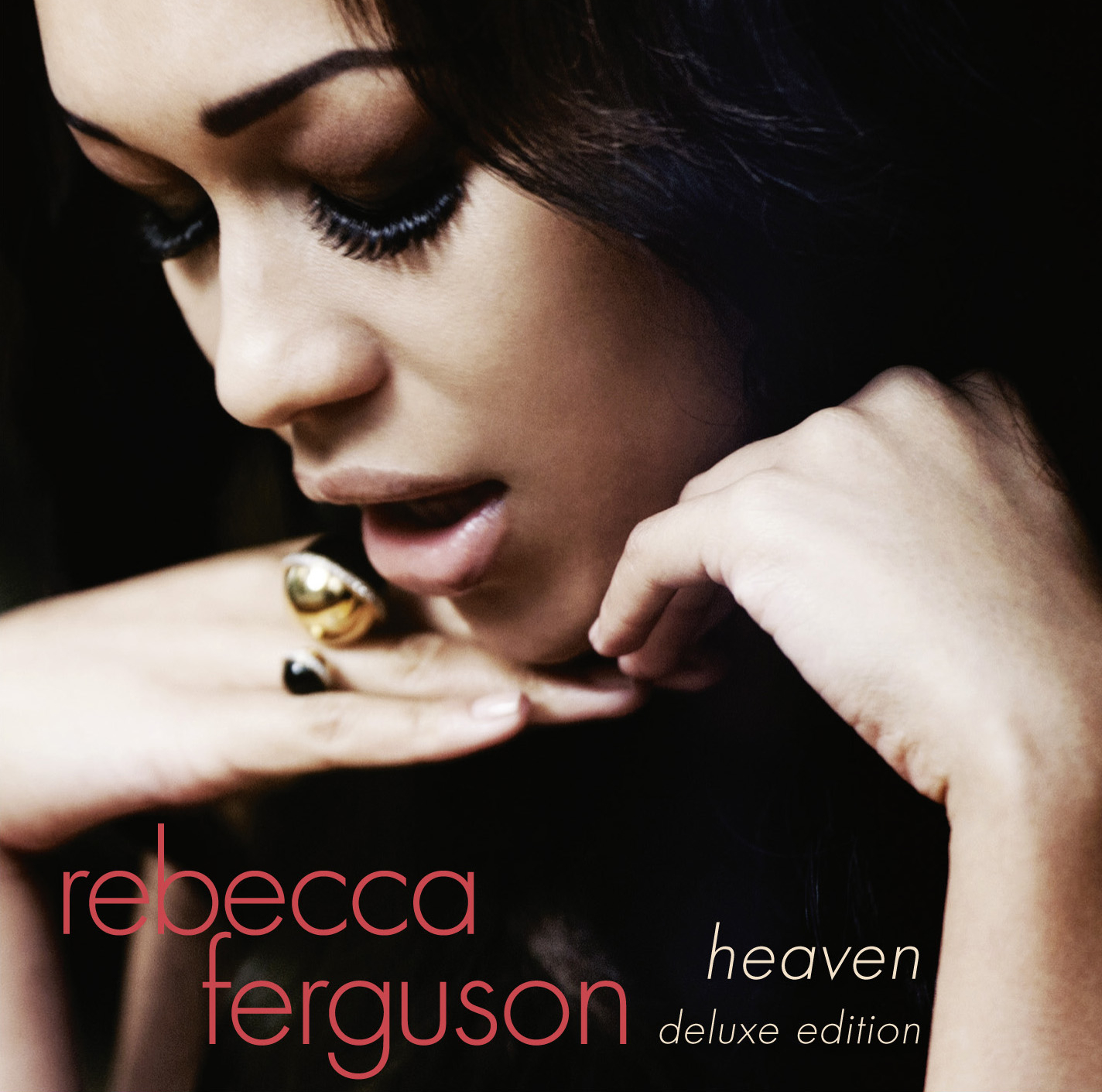 Cover art for the deluxe edition of Rebecca Ferguson's Heaven