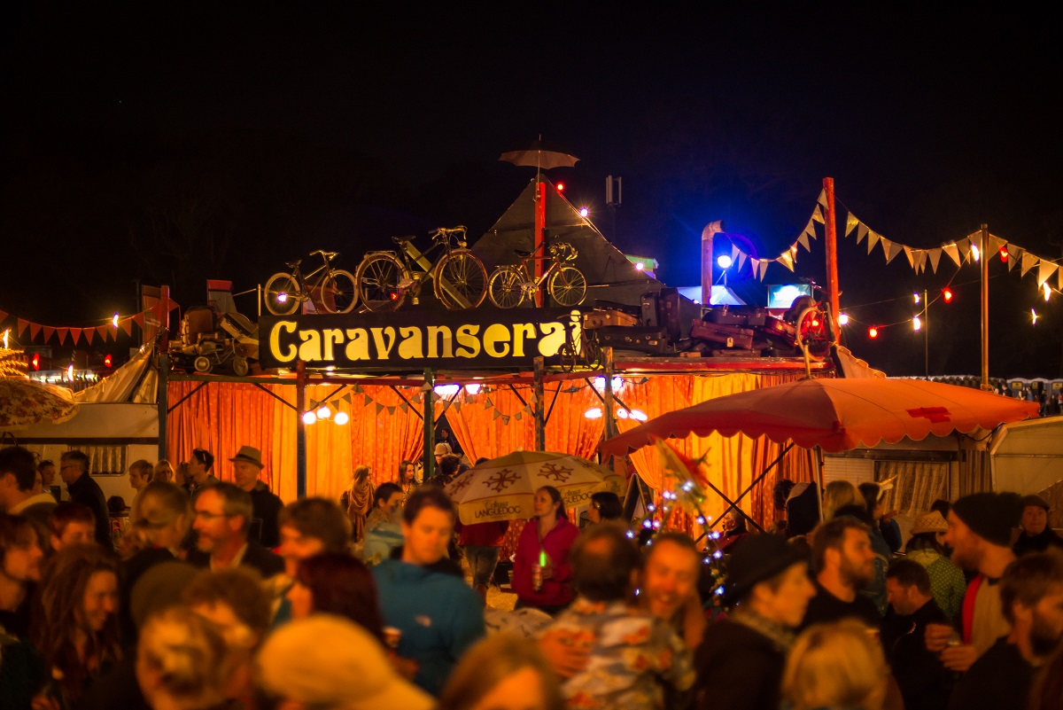 Fantastic  Caravanserai Camp Bestival Lulworth Dorset July 31st 2016 In Dorset