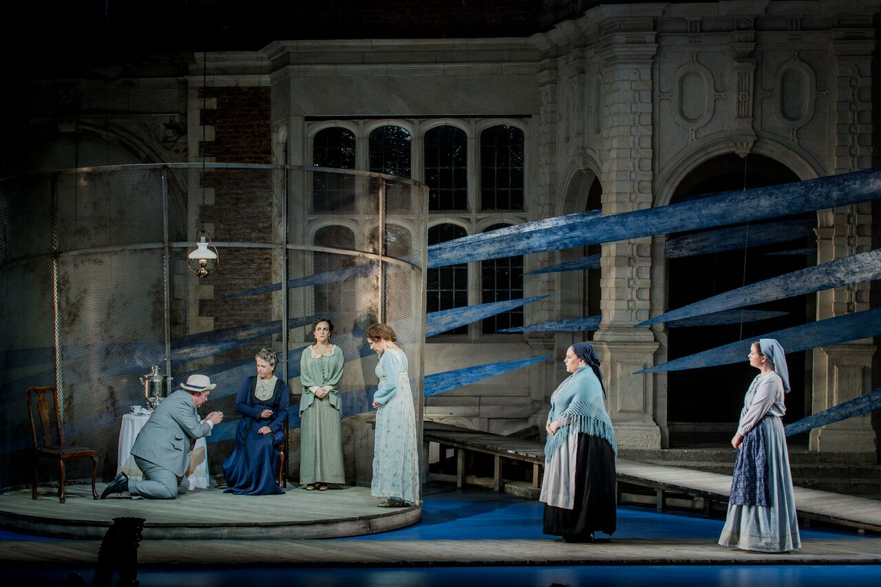 Scene from Opera Holland Park Katya Kabanova