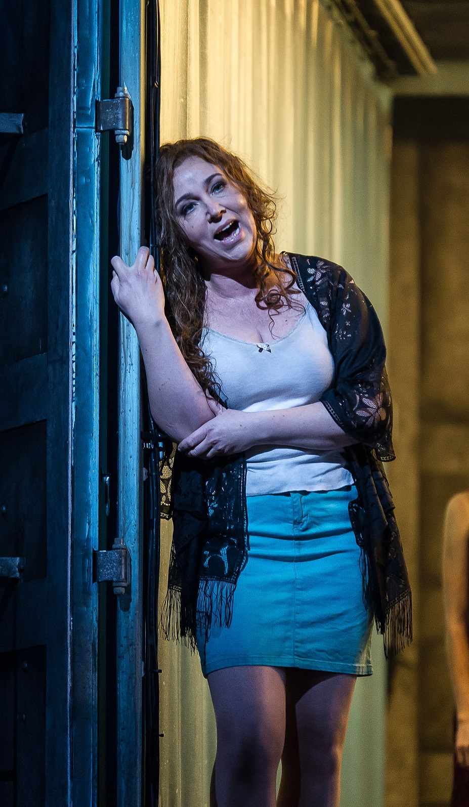 Christine Rice as Jenny in the Royal Opera Mahagonny