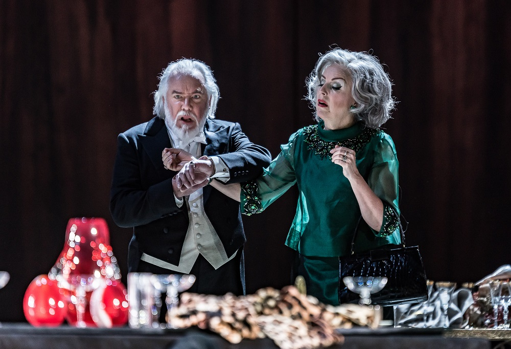 John Romlinson and Anne Sofie von Otter in The Exterminating Angel