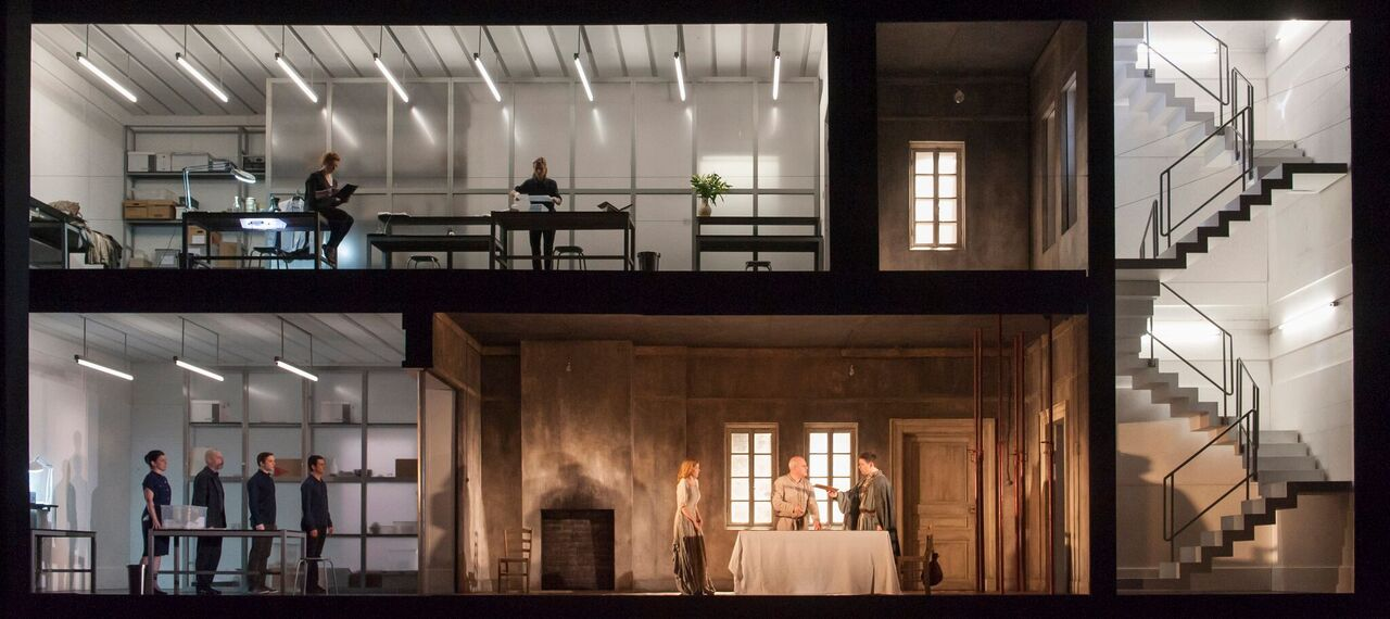 Royal Opera production of Written on Skin