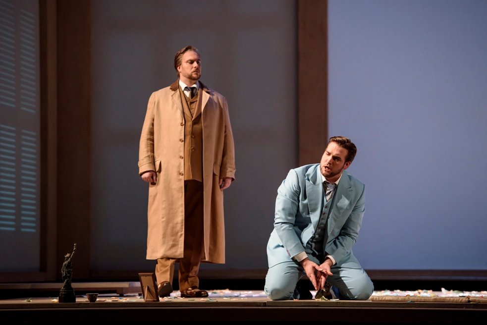 Brian Jagde and Gabriele Viviani in Madama Butterfly