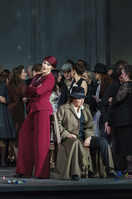 Scene from Royal Opera Forza