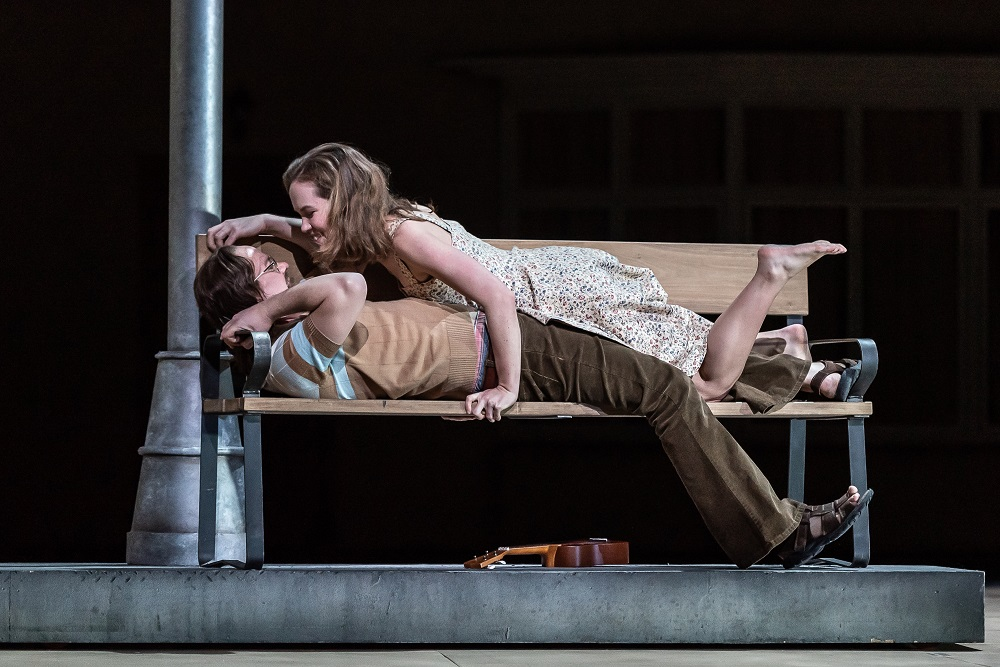Emily Edmonds and Andrew Tortise in the Royal Opera Katya Kabanova