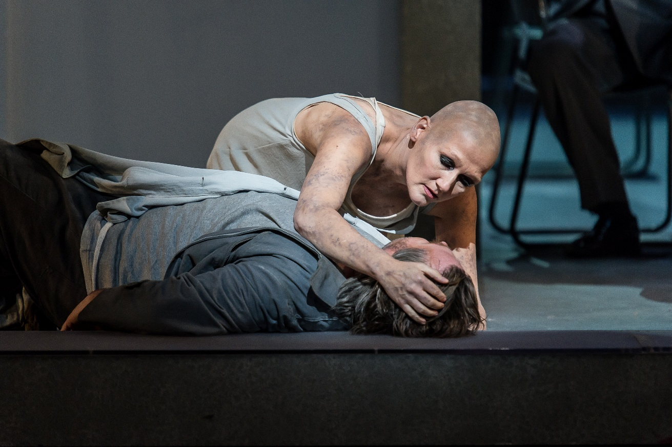 Angela Denoke and Simon O'Neill in Royal Opera Parsifal pictured by Clive Barda