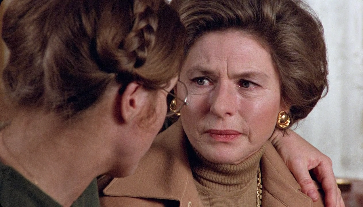 Liv Ullmann and Ingrid Bergman in Autumn Sonata