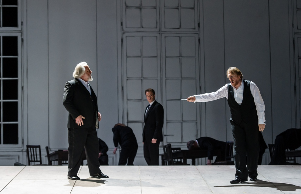 Tomlinson and Paterson in Royal Opera Tristan