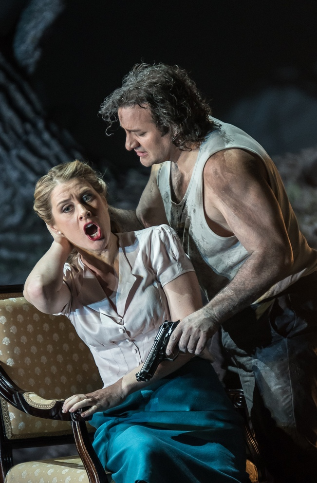 John Osborn and Malin Bystrom in Royal Opera Guillaume Tell