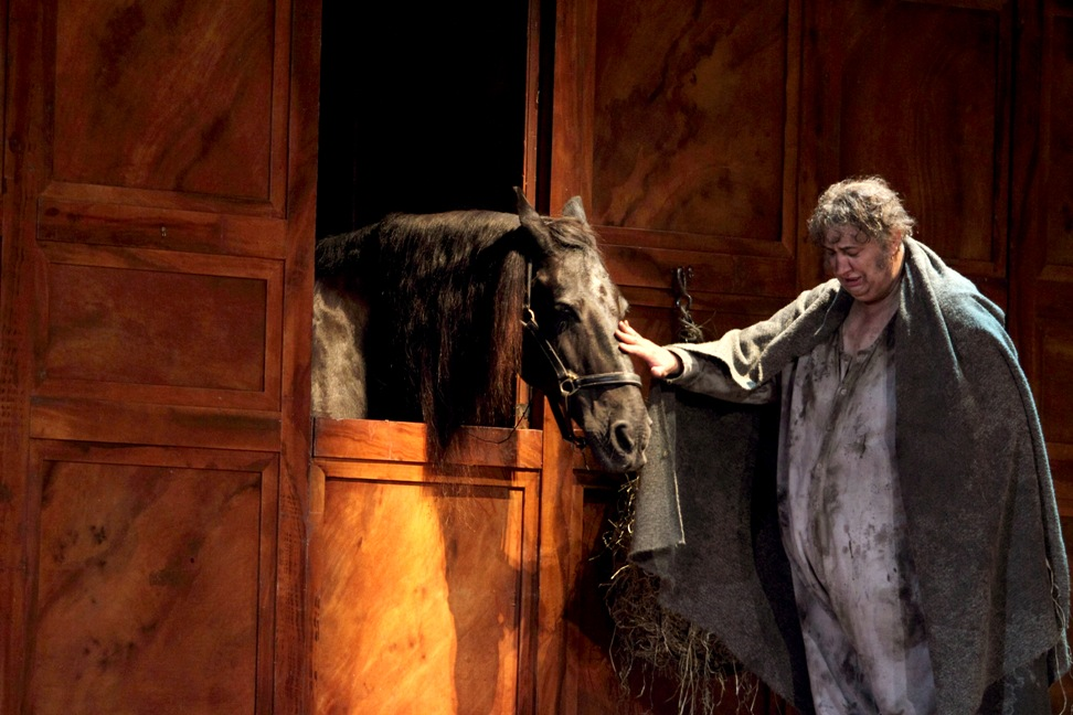 Ambrogio Maestri and Louis in Royal Opera Falstaff